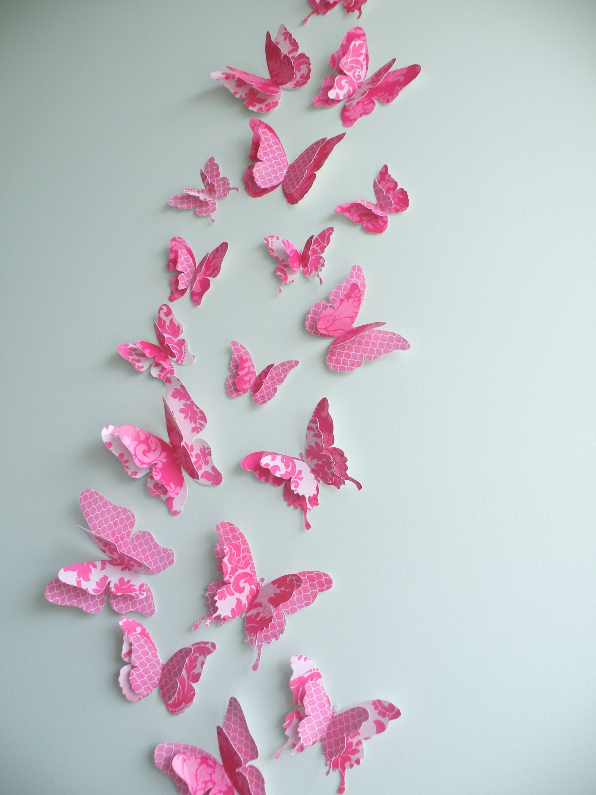 3d butterfly wall decor fancypants set felt