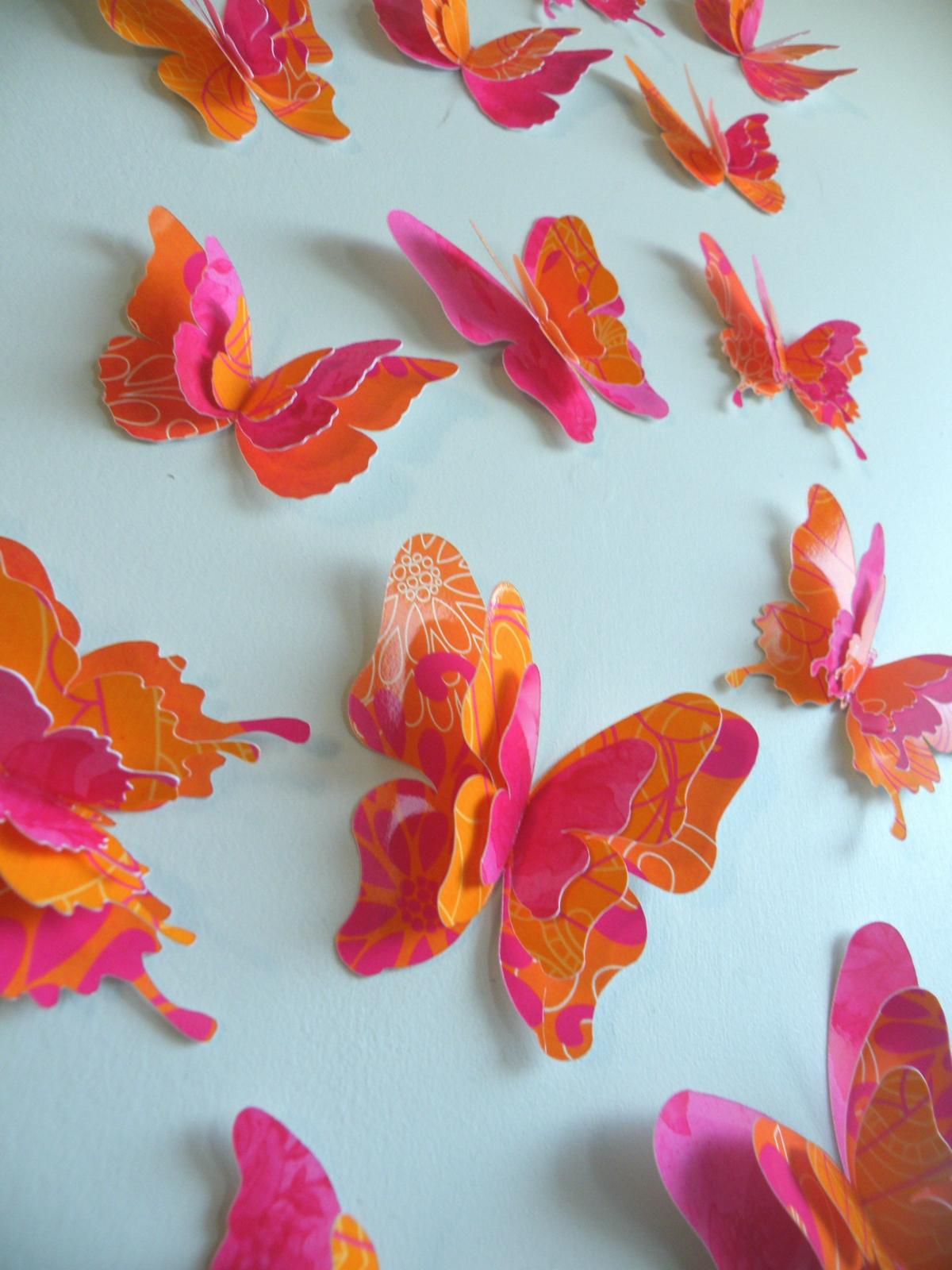 3d butterfly wall decor destiny paper butterflies felt for 3d butterfly decoration