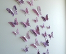 "3D Butterfly Wall Decor ""Elegance"" Set"