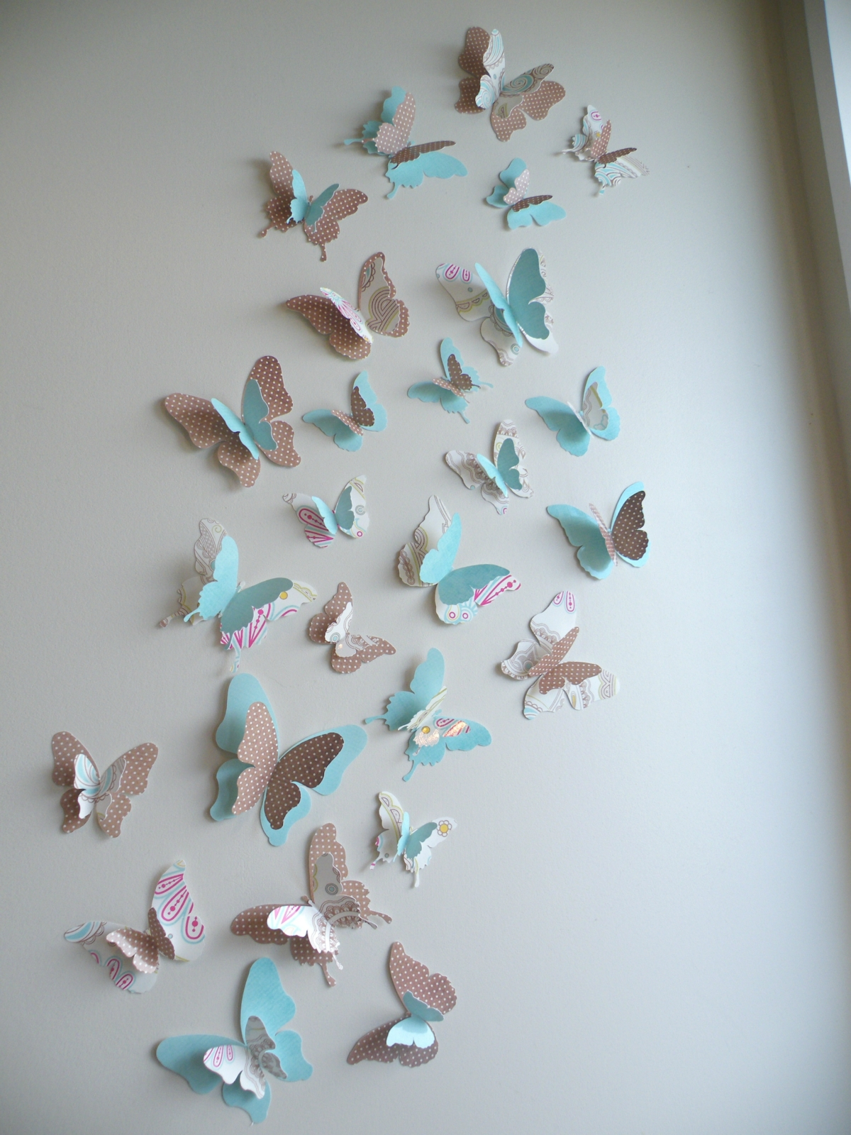3d butterfly wall decor quot jenna quot set felt