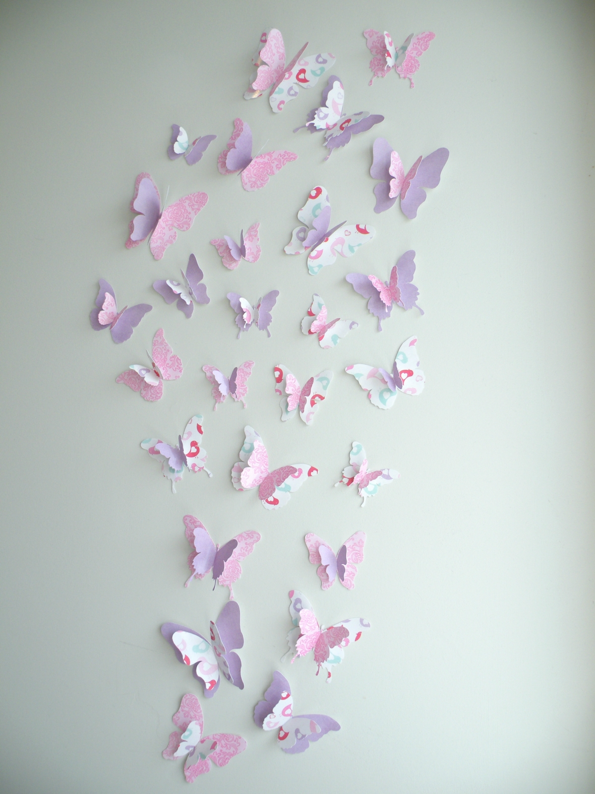 3d Butterfly Wall Decor Amarissa Set Felt