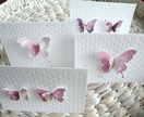 "3D Butterfly Gift Cards ""Elegance"" Set"