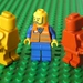 Minifigure Crayon Men (6 per packet)
