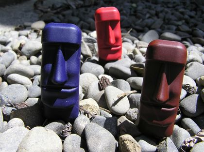 Easter Island Crayons (Packet of 6)
