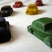 VW Beetle and Mini Crayons (6 per packet)