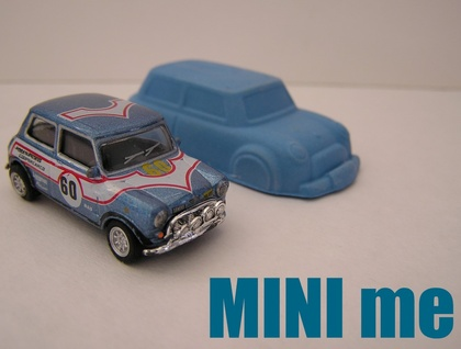 Mini Cooper Car Crayons (6 per packet)