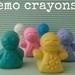 Emo Crayons (6 per packet)