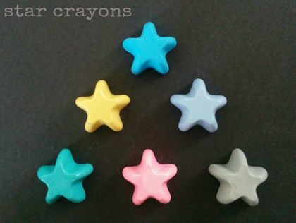 Star Crayons (6 per packet)