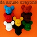 da Mouse Crayons (8 per packet)