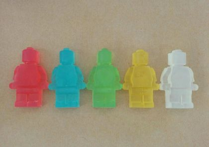SILLY SOAP - Minifig Glycerin Soap