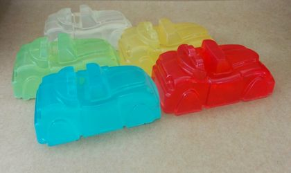 SILLY SOAP - Roadster Glycerin Soap