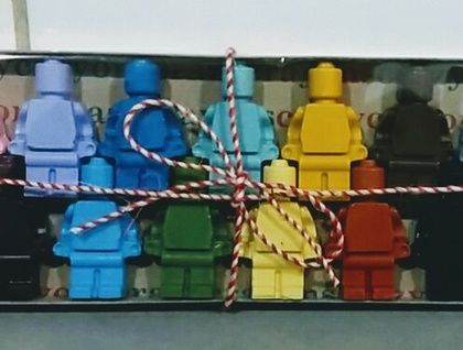 Minifigure Crayon Men (box of 15)