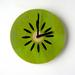 Objectify Kiwifruit Wall Clock
