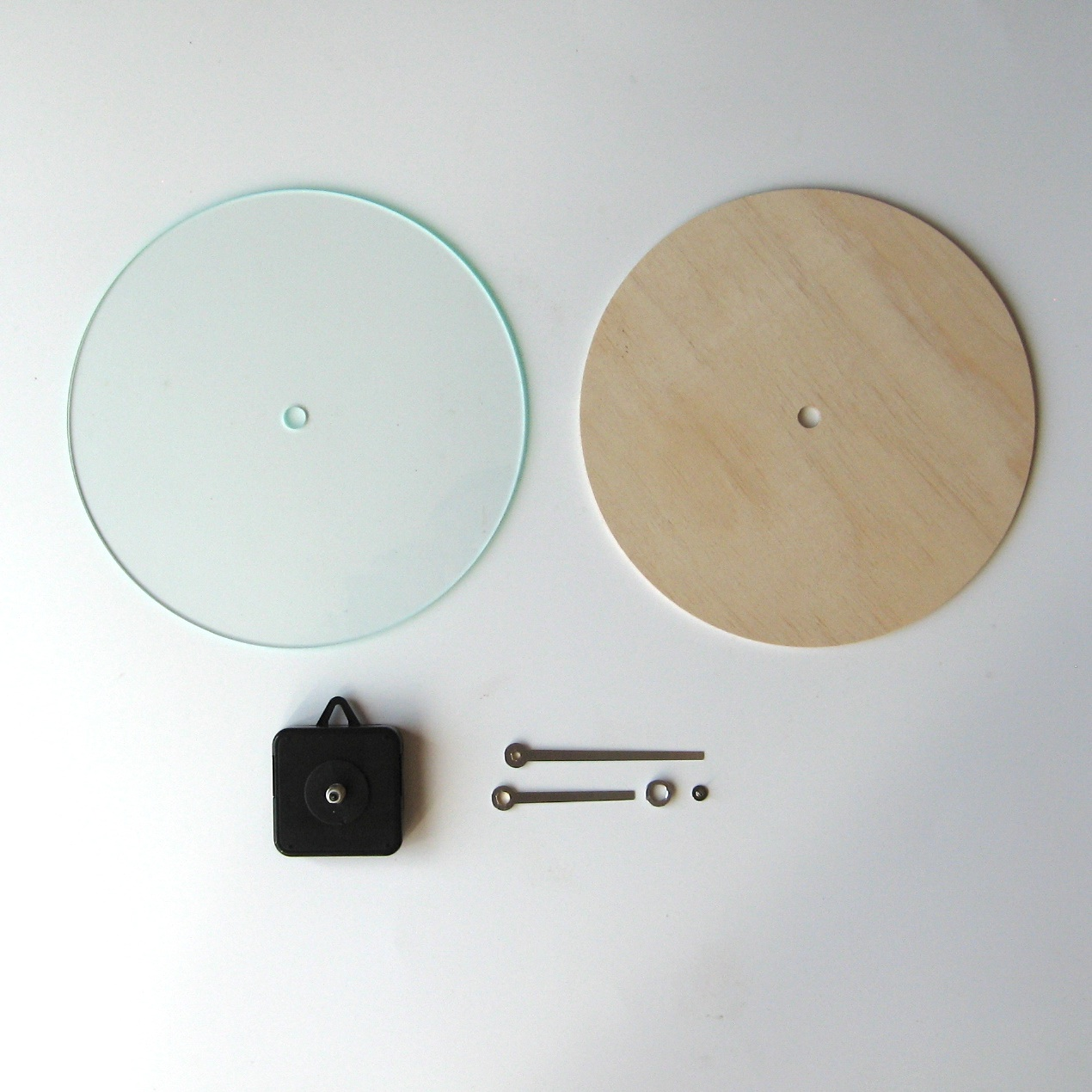 Objectify Diy Wall Clock Kit Round Felt