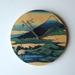 "Objectify ""Cranes Nearby Mt Fuji"" Wall Clock"