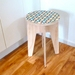 Objectify Printed Circle Side Table
