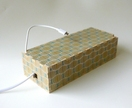 "Objectify ""Retro Kina"" USB Charging Box for up to 6 Mobile Phones, Tablets, Cameras, rechargeable speakers or Power Banks"