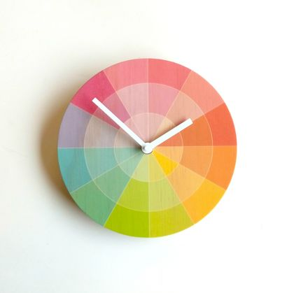 Objectify Colour Swatch Wall Clock