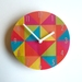 Objectify Bright Grid Wall Clock