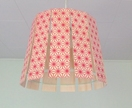"Objectify Paling ""Red Pattern"" Printed Plywood Light Shade"
