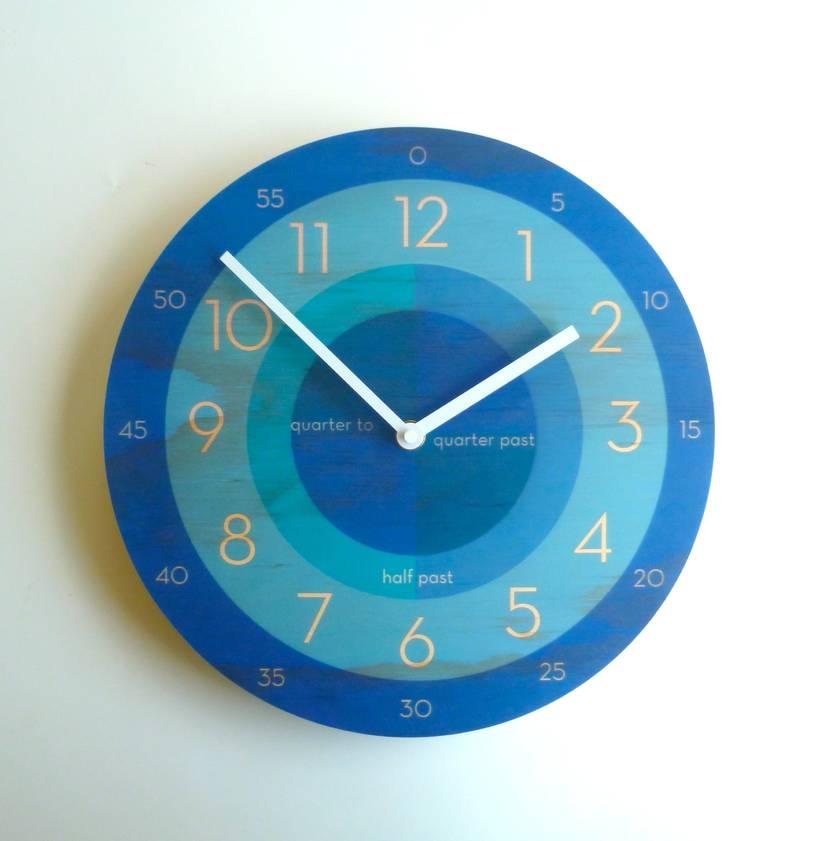 Objectify Time Teacher Wall Clock - Medium Size