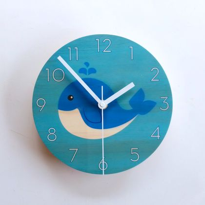 Objectify Whale Wall Clock