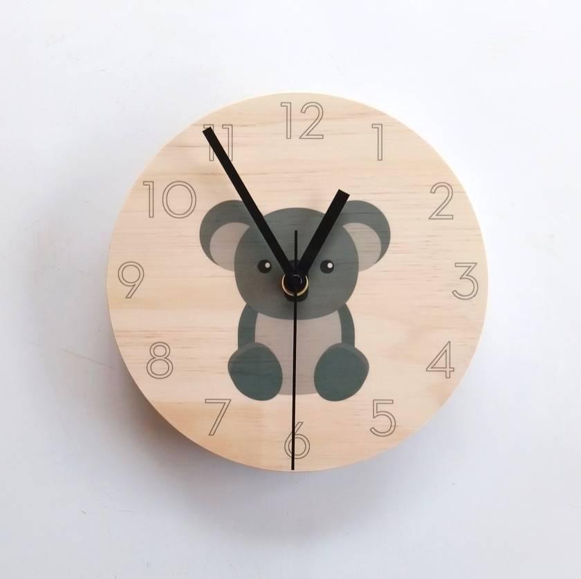 Objectify Koala Wall Clock