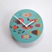 Objectify Fishes Wall Clock