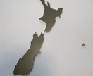 Objectify NZ Map Mirror - Large