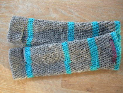 WINTER SALE - Crocheted Arm Warmers