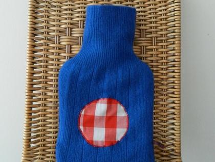 WINTER SALE - Hot Water Bottle Cover