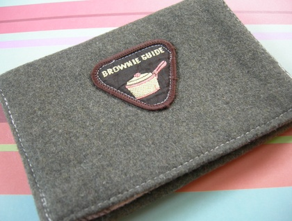 Brownie Badge Wallet