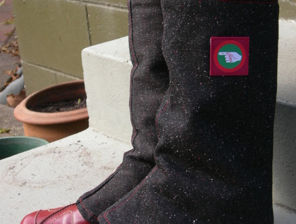 WINTER SALE - Funky Gaiters (legwarmers)