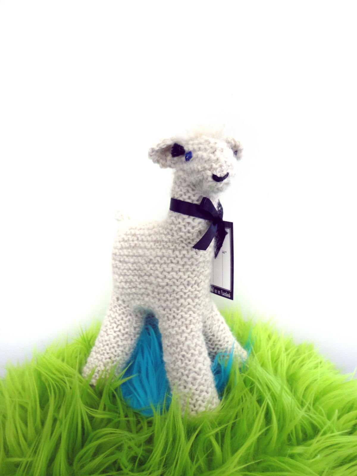 NZ Alpaca Knitted Toy Felt