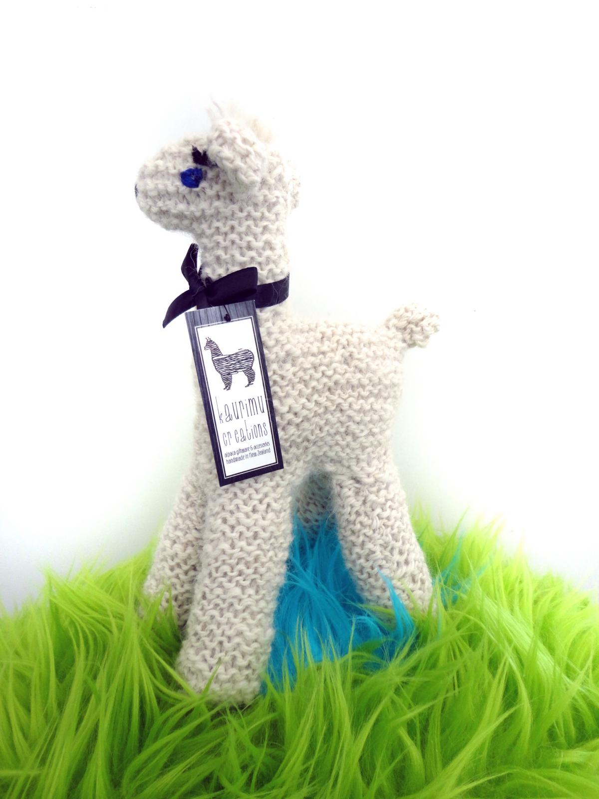 NZ Alpaca Knitted Toy Felt