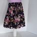 Summer Flutter Dresses in Navy& Pink Floral Cotton with Polka Dot Bodice - Age/Size 2 & 8