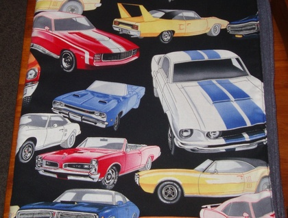 Muscle Cars Playmat/ Blanket **ON SALE**
