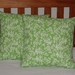 APPLE GREEN CUSHION COVER