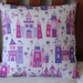 PRINCESS CASTLES CUSHION COVER