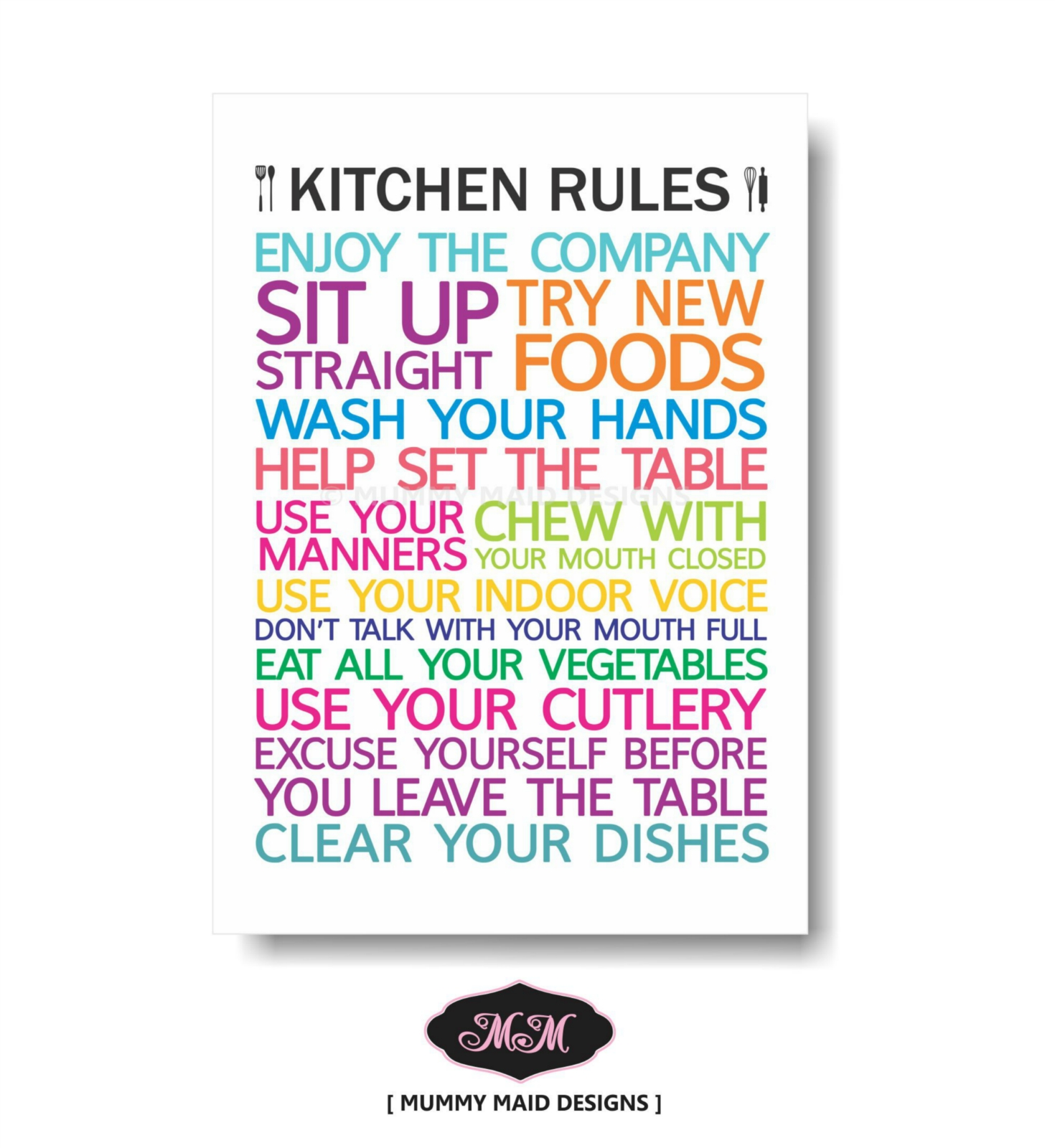 Kitchen Rules&q... Mothers Birthday Gift