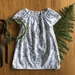 Botanical peasant dress