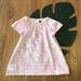Pink pony Organic cotton Peasant dress