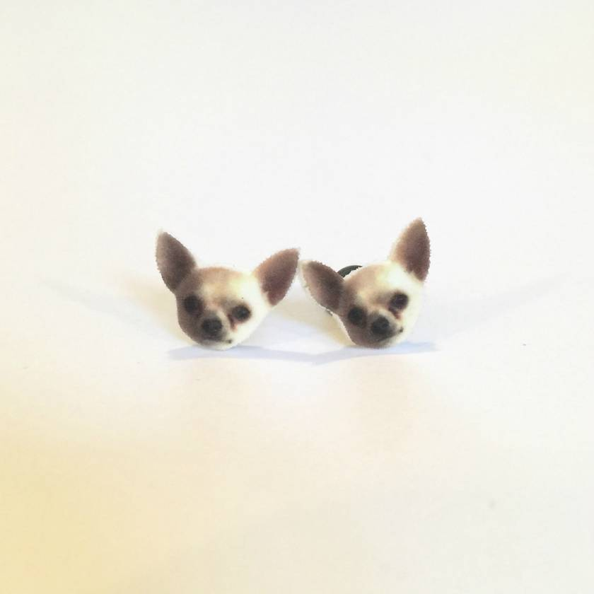 Leroy the Chihuahua Earrings