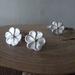 Sterling silver manuka flower earrings- studs