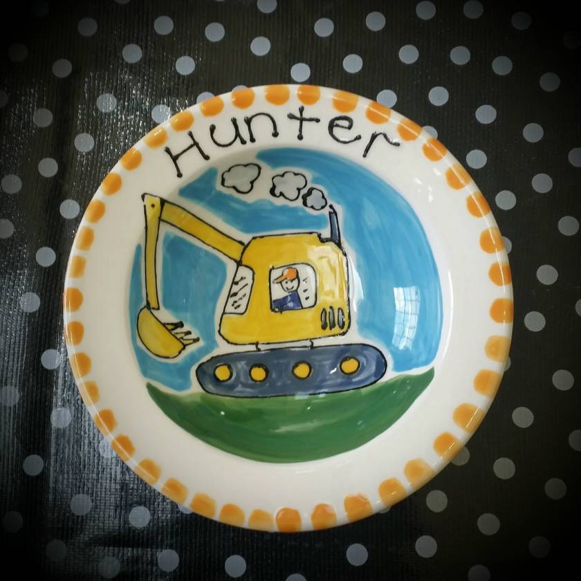 Personalised dinner plates | Felt