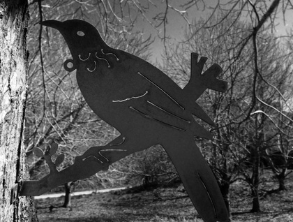 TUI BIRD METAL SILHOUETTE