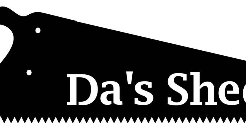 Da's Shed Custom Sign