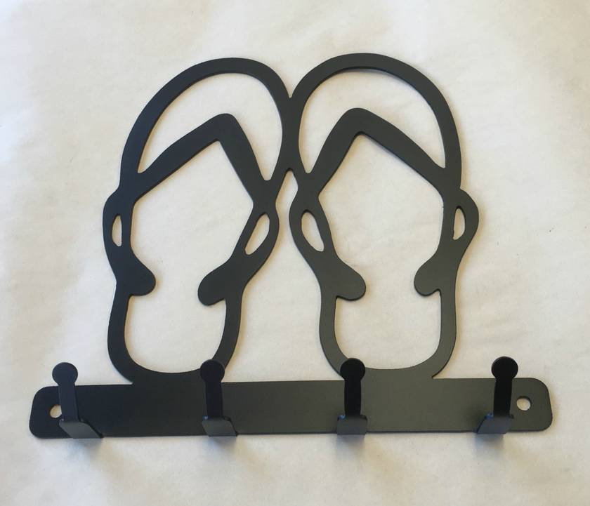 Jandals Silhouette Key Holder  ***NEW ***