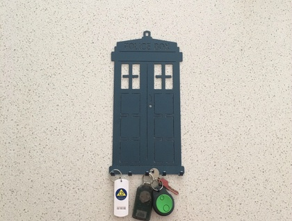 "TARDIS KEY HOLDER "" DR WHO """
