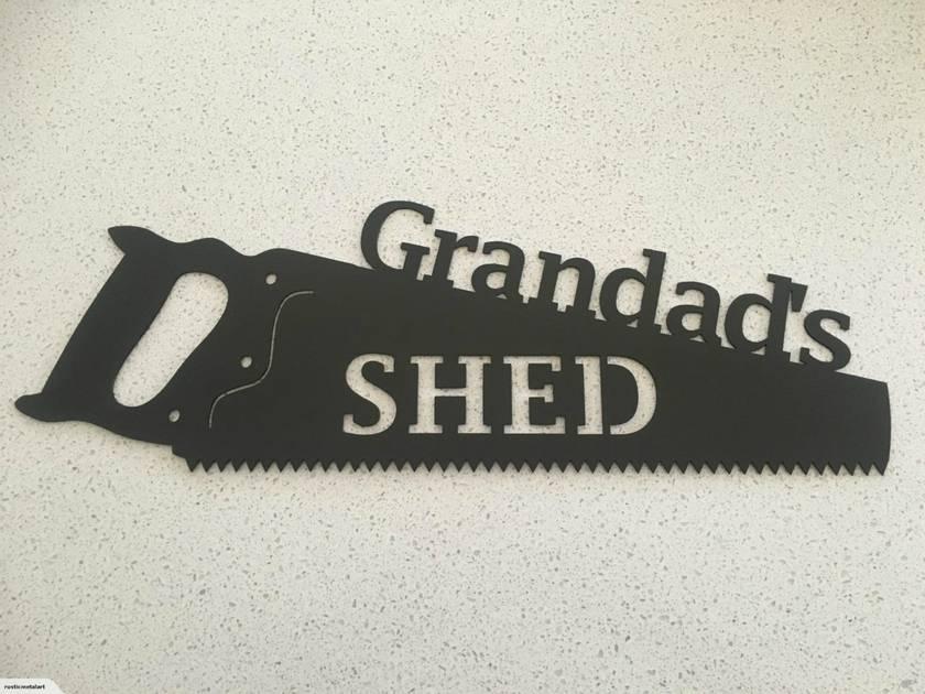 Grandads  Shed Sign